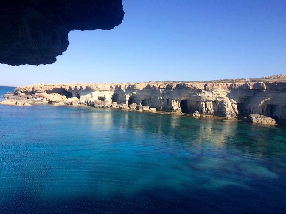 Sea Caves in Agia Napa