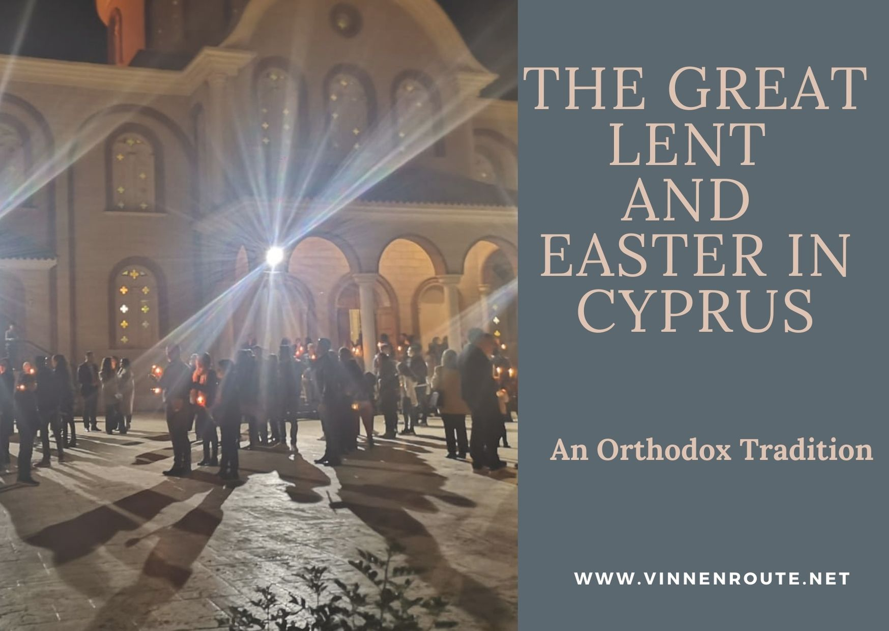 The Great lent and Easter in Cyprus cover